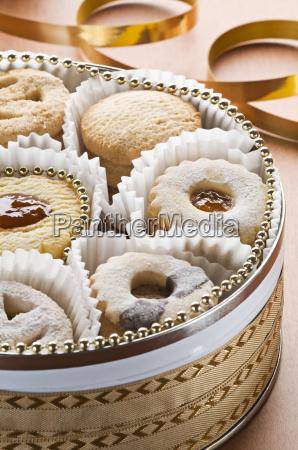 doces ferias caixa biscoito peito yule