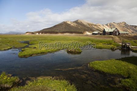 enorme interior islandia paisagem natureza montanha