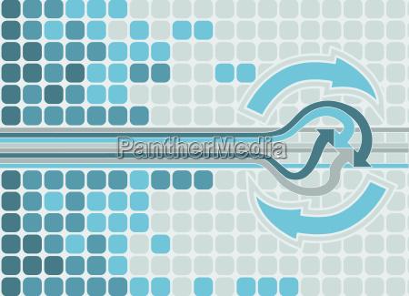 projeto grafico poder parede ilustracao eletrico