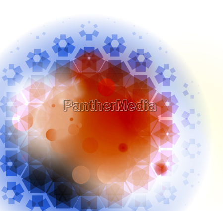 grafico ilustracao celula virus medicina particula
