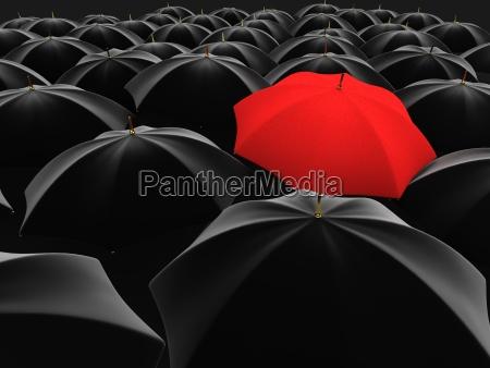 guarda chuva vermelho original