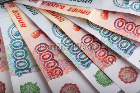 russo mil rubles notas