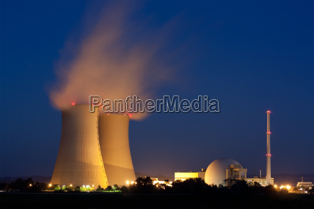 grohnde central nuclear na baixa saxonia