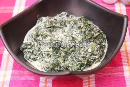 alimento vegetal turco espinafre