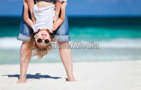 diversao na praia