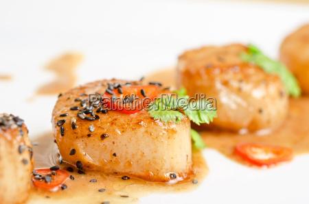 fechar restaurante alimento closeup quente cozinha