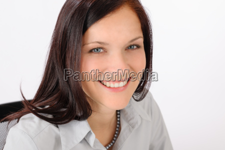 professional businesswoman attractive smiling