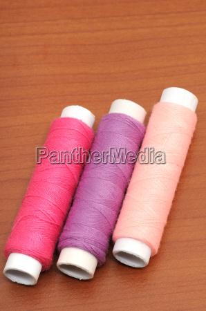colorido fio costurar topicos de costura
