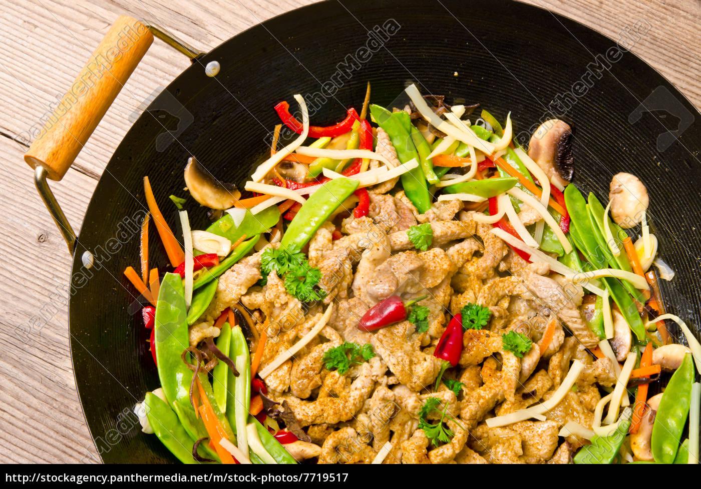 frigideira, do, wok - 7719517