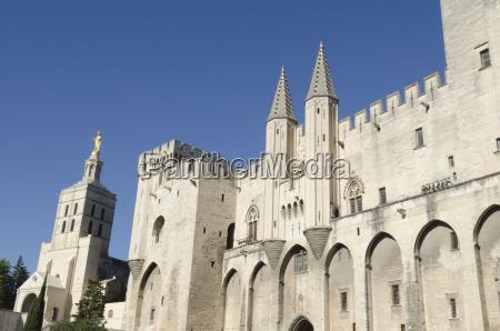 palacio dos papas em avignon