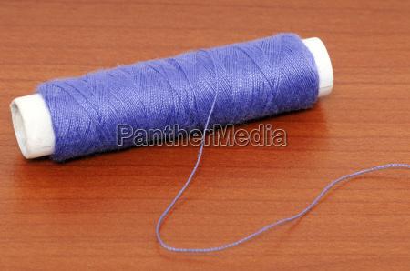 azul fio barbante costurar topicos