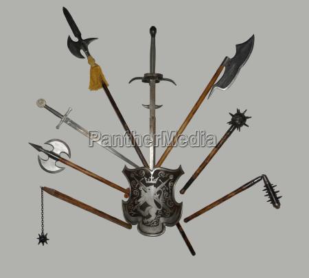 historico espada arma militar velho idade