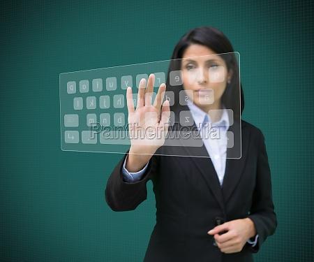 mulher secretario cor feminino caucasiano aluno