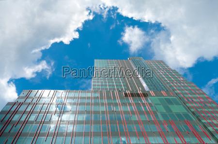 torre escritorio moderno alto urbano casa