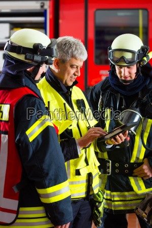 bombeiros usar o planejamento no
