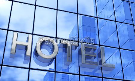 fachada azul hotel 1