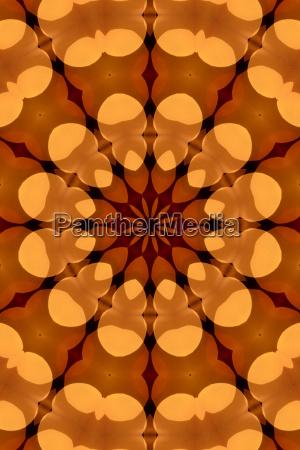 reflexao abstrato caleidoscopio regularmente efeito formacao