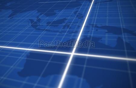 azul grafico cruz ilustracao acordo negocio