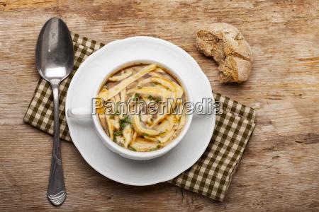 sopa de panqueca bavarian
