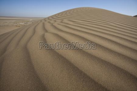 dunas do deserto em ira