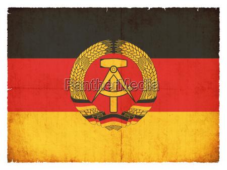 bandeira alemanha oriental alemao alemanha gdr