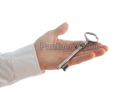 chave e mao