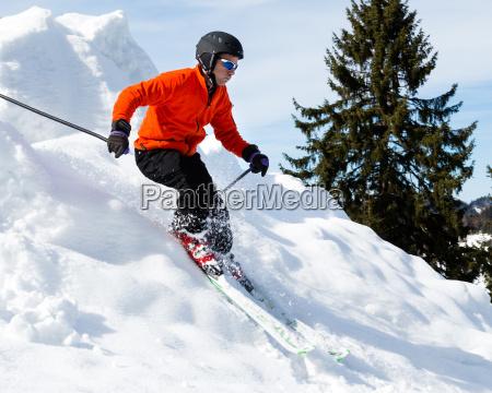 esquiadores de carvender