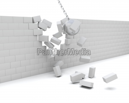 construir parede destruicao demolicao demolida destruido