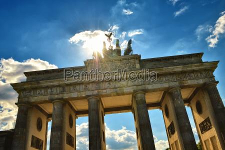 famoso liberdade turista turistas vista berlim