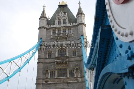 steel beams tower bridge london