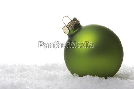 natal bola de natal verde