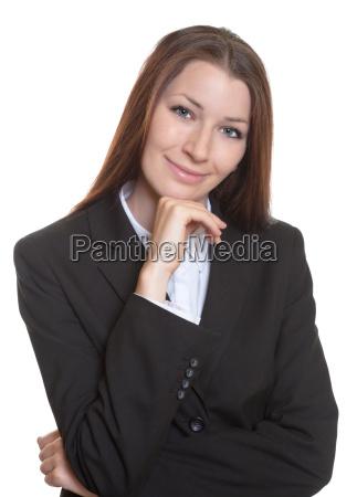 retrato, de, uma, mulher, de, negócios - 10142125