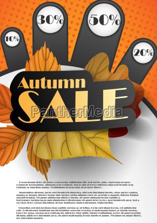 venda, de, outono. - 10168905