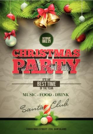 festa, de, natal, poster - 10242533