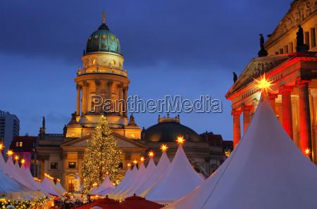 mercado de natal de berlim gendarmenmarkt