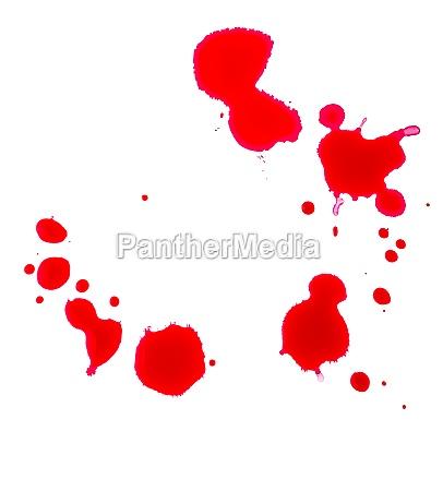 gotas do sangue em um fundo