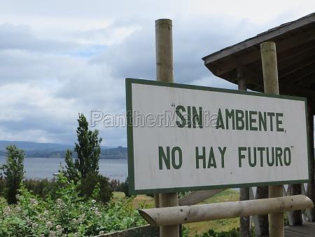 sinal ambiente verde futuro chile palido