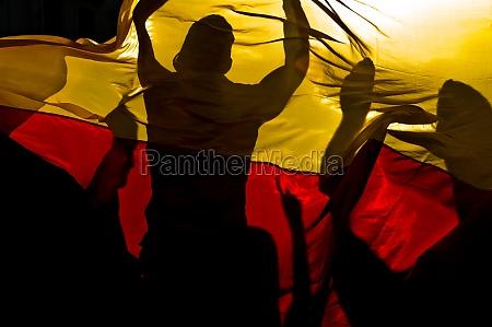 fas comemoram apos bandeira de alemanha