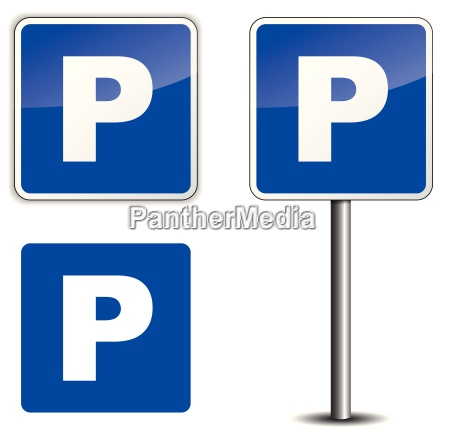 sinal do estacionamento
