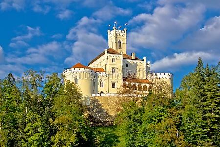 fortaleza croacia citadela forte natureza castelo