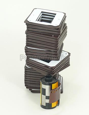 slides diastreifen filme reversao slide