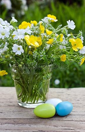 azul vidro copo de vidro tabela