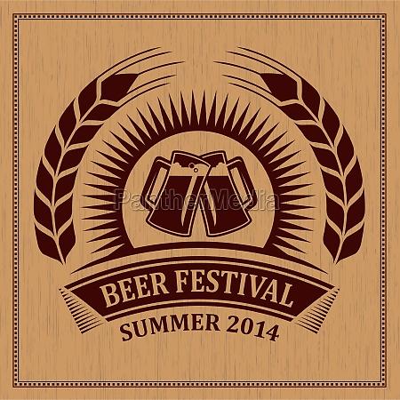 icone do festival de cerveja simbolo