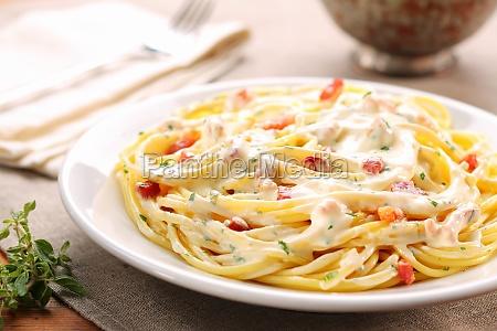 comida cocina espagueti fideos pasta receta