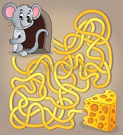 maze 1 com o mouse e