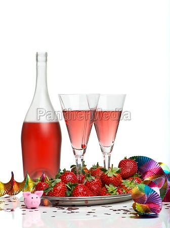pequeno, almoço, sparkling, do, vinho - 11818707