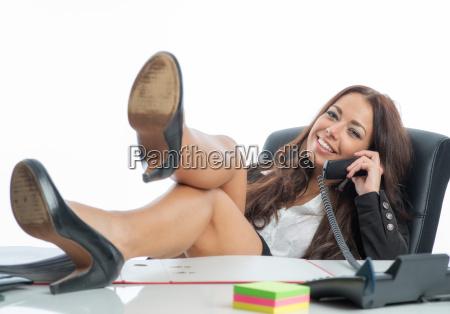desk secretary workplace businesswoman career woman