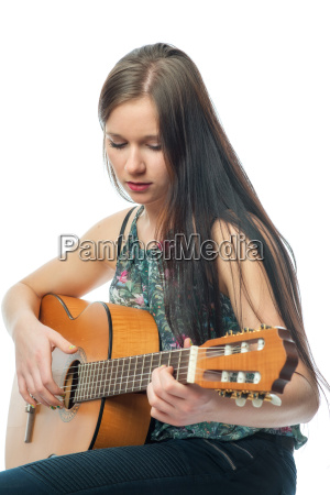 rapariga com guitarra