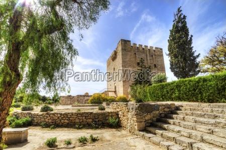 castelo medieval de kolossi limassol chipre