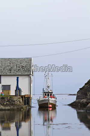 cortador noruegues da pesca